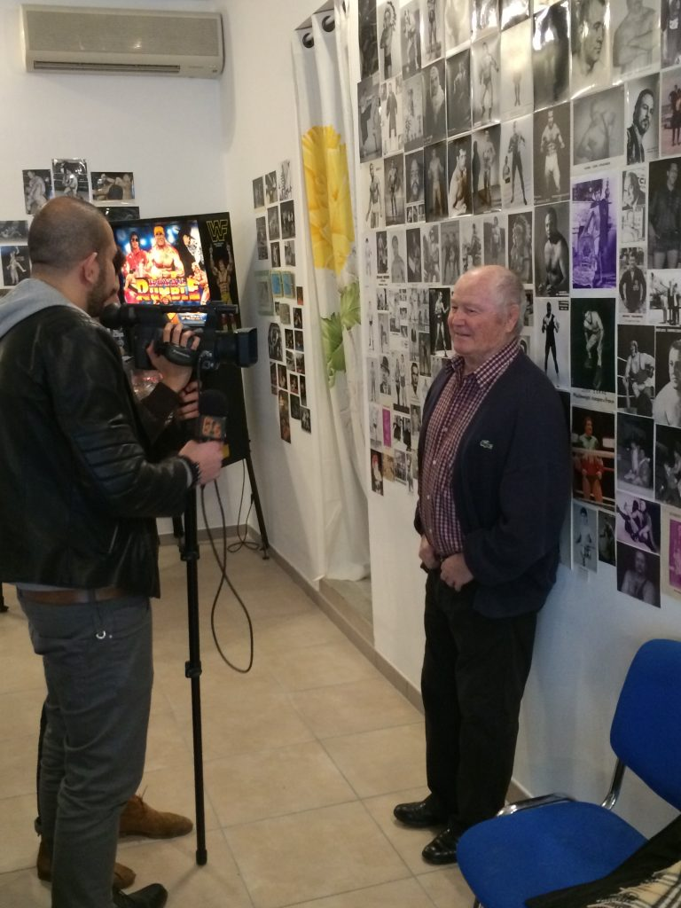 interview musée du catch beziers occitanie france abccatch