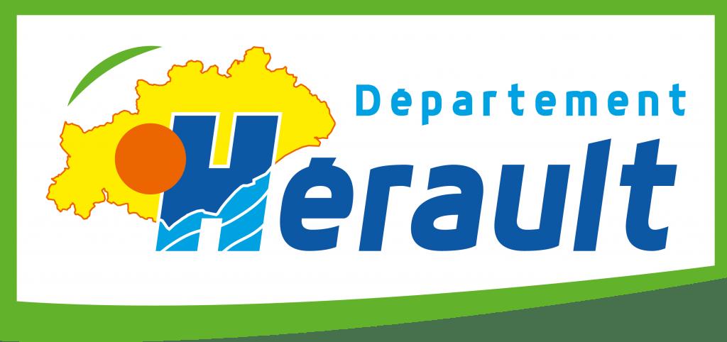 logo département Hérault rectangle