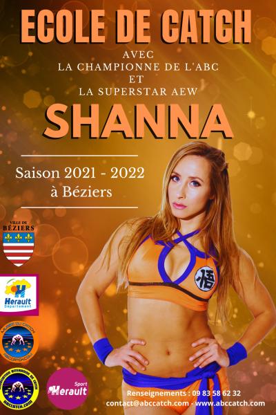 ecole de catch Shanna